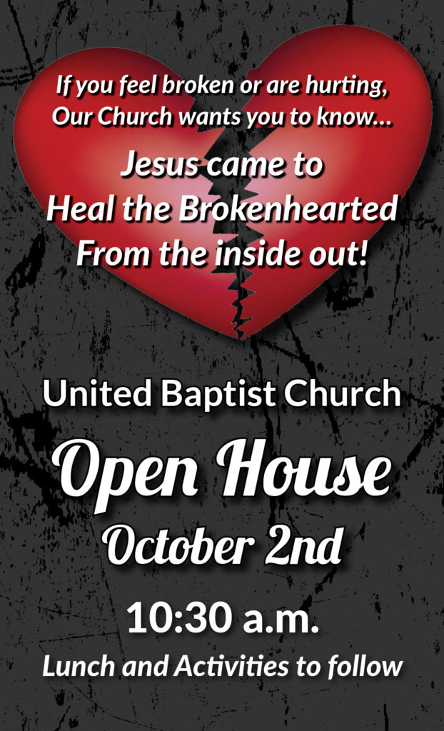 Open House Flyer 4.25 x 7 front